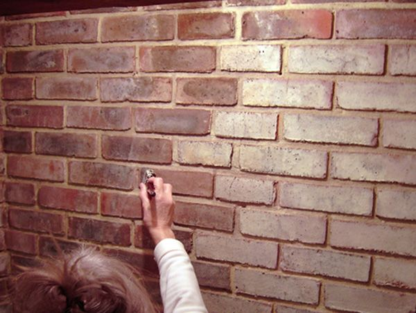 Fireplace Brick and Stone Cleaner