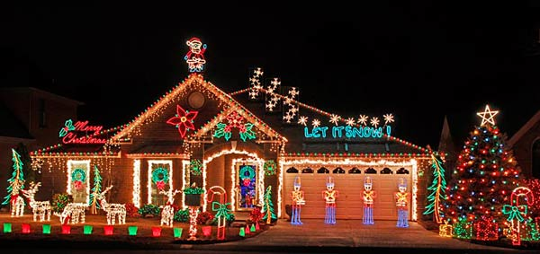 Holiday House Lights